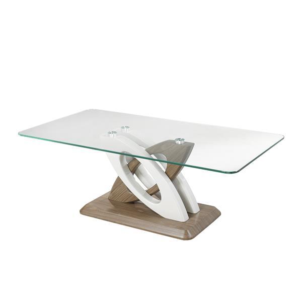 Table basse Donatello, transparent