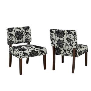 Brassex Floral Accent Chair