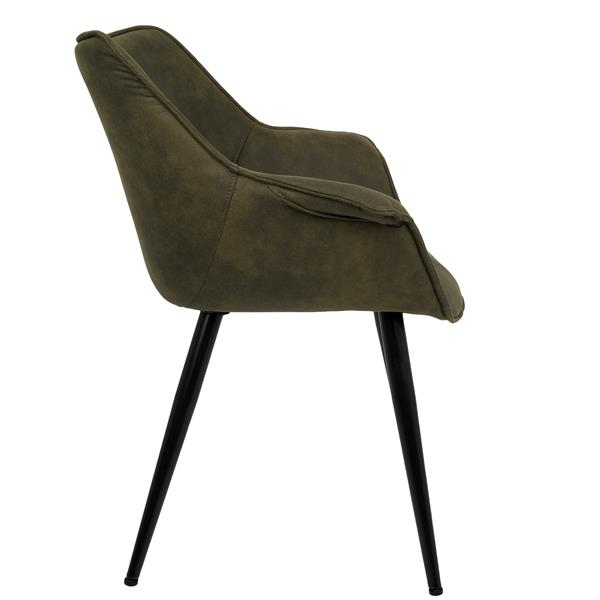 Lumisource Wrangler 25.75-in x 27-in x 32.25-in Green Chairs (Set Of 2)
