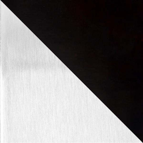 """Table basse Zenn, 16"""" x 16"""" x 22"""", bois,  noir"""