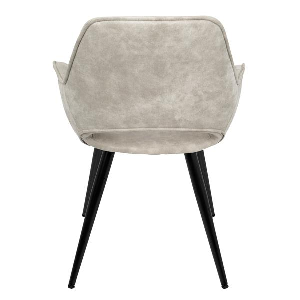 Lumisource Mustang Beige Mid-Century Modern Accent Chair (Set of 2)