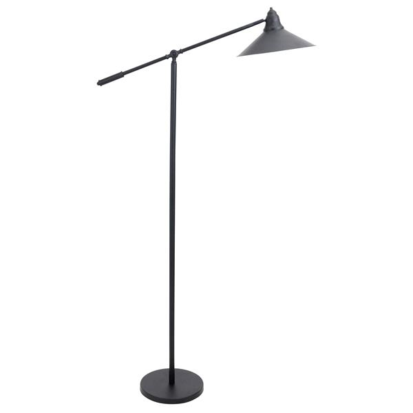 Lumisource Paddy 65.75-in Black and Gold Floor Lamp