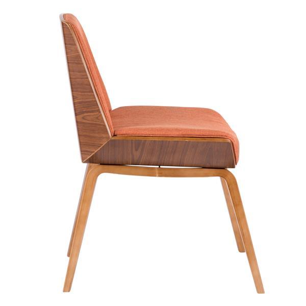 Lumisource Corazza Orange 20.50-in X 29.75-in Chair