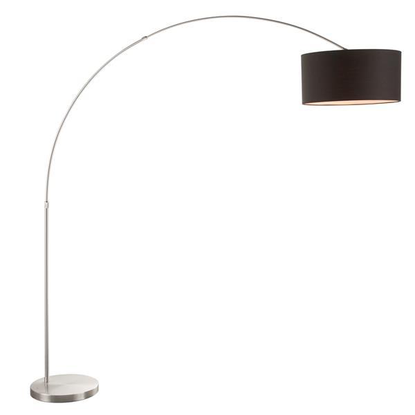 Lumisource 79.25-in Satin Nickel Floor Lamp