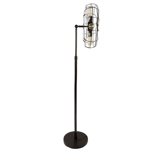 Lumisource Ozzy 62-in Antique Bronze Floor Lamp