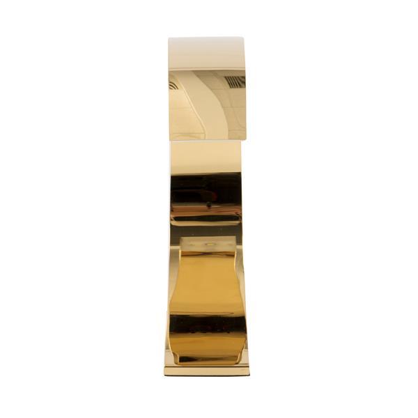 """Lampe tactile Element, 2,5"""" x 13"""", métal, doré"""