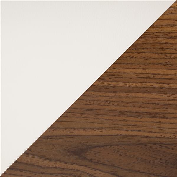 Lumisource Lombardi 19.75-in x 25-in Faux Leather Cream Barstool