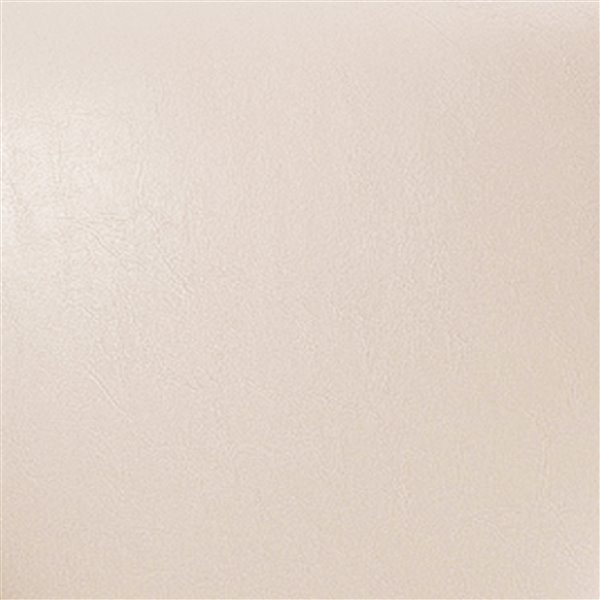 CorLiving Kings Cream Bonded Leather Bar Stool (Set of 2)