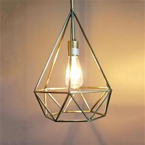 P.W Design Saturn 12-In Antique Brass Metal 1-Light Pendant