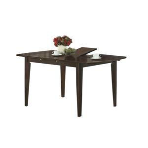 Monarch 60-in x 30-in Wood Cappucino Dining Table
