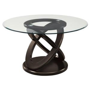 "Table de cuisine Monarch, 48"" x 30,5"", verre, expresso"