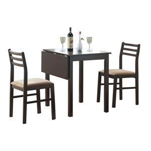 Monarch Cappuccino 3 Piece Dining Set