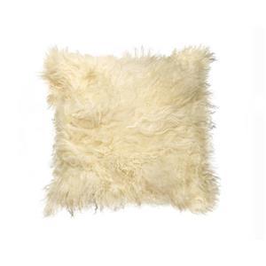 """Coussin en mouton Mongolien, 18""""x18"""","""