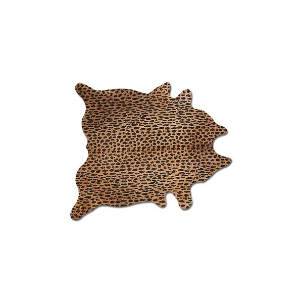 Natural by Lifestyle Brands 5' x 7' Leopard Togo Cowhide Rug