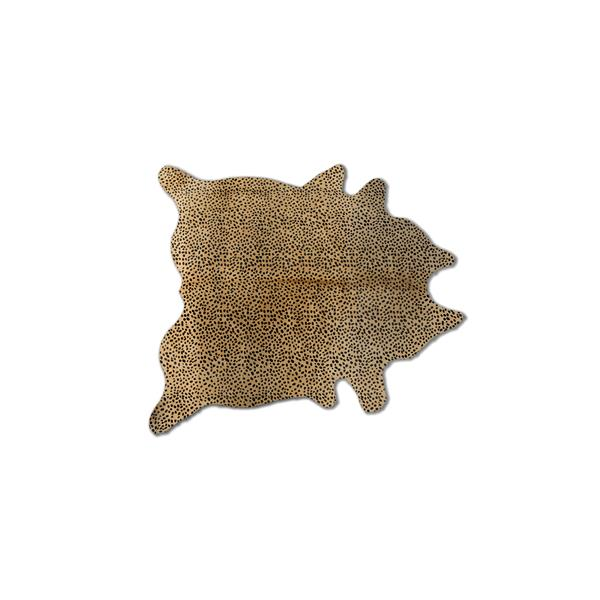 Natural by Lifestyle Brands 5' x 7' Cheetah Togo Cowhide Rug