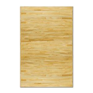 Natural by Lifestyle Brands 8-ft x 10-ft Natural Linear Cowhide Area Rug