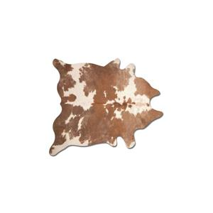 Natural by Lifestyle Brands 5-ft x 7-ft Brown and White Kobe Cowhide Area Rug