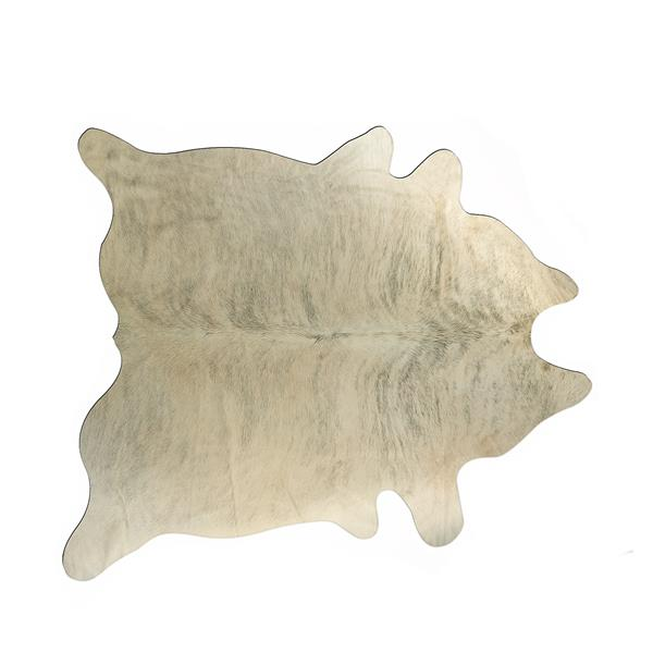 Natural by Lifestyle Brands 6-ft x 7-ft Light Brindle Exotic Cowhide Area Rug