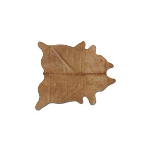 Natural by Lifestyle Brands 5-ft x 7-ft Tan Geneva Cowhide Area Rug