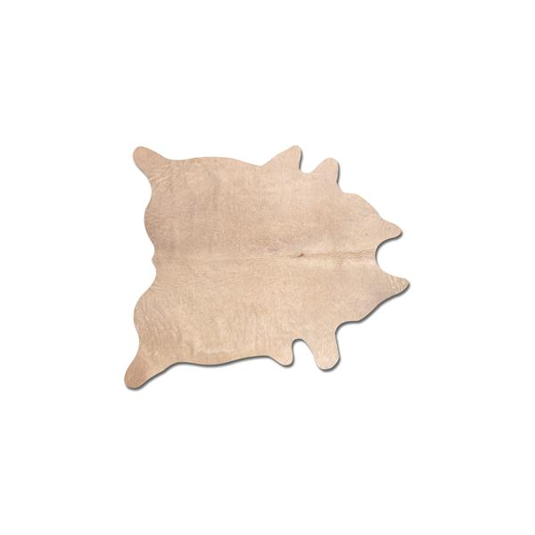 Natural by Lifestyle Brands 5-ft x 7-ft Natural Geneva Cowhide Area Rug