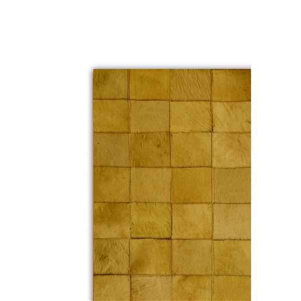 Natural by Lifestyle Brands 8-Ft x 10-Ft Tan Barcelona Cowhide Rug