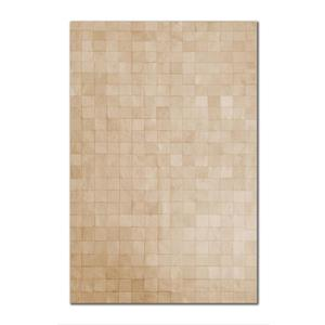 Natural by Lifestyle Brands 8-ft x 10-ft Natural Barcelona Cowhide Rug