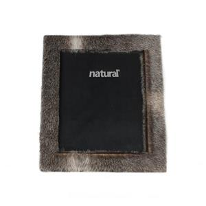 Lifestyle Brands Natural 8 x 10 Grey Durango Cowhide Picture Frame