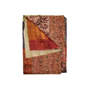 Natural by Lifestyle Brands Kantha 50-in x 70-in 30014 Silk Throw