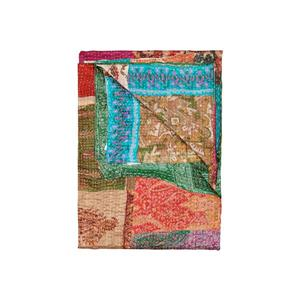 Natural by Lifestyle Brands Kantha 50-in x 70-in 30003 Silk Throw