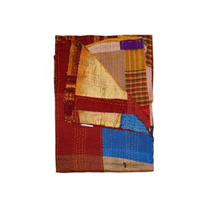 Natural by Lifestyle Brands Kantha 50-in x 70-in 30001 Silk Throw