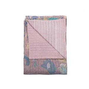 Natural by Lifestyle Brands Kantha 50-in x70-in 1117 and #28 Cotton Vintage Handmade Throw