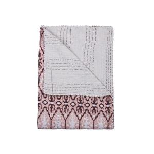 Natural by Lifestyle Brands Kantha 50-in x70-in 1117 and #25 Cotton Vintage Handmade Throw