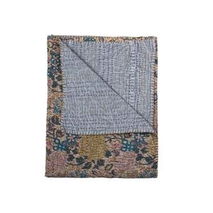 Natural by Lifestyle Brands Kantha 50-in x70-in 1117 and #12 Cotton Vintage Handmade Throw