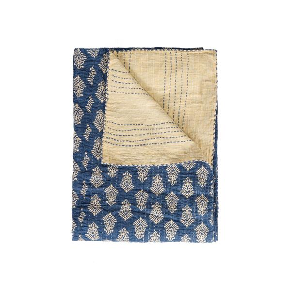 Natural by Lifestyle Brands Kantha 50-in x70-in 1117 and #13 Cotton Vintage Handmade Throw