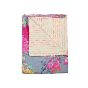 Natural by Lifestyle Brands Kantha 50-in x70-in 1117 and #03 Cotton Vintage Handmade Throw
