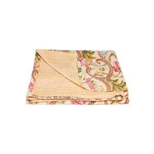 Natural by Lifestyle Brands Kantha 50-in x70-in 330 Cotton Vintage Handmade Throw