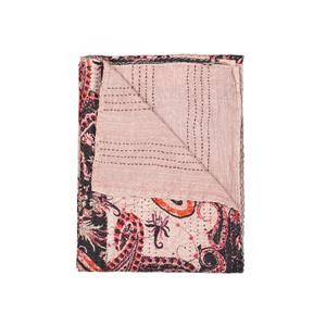 Natural by Lifestyle Brands Kantha 50-in x 70-in Wa009 Cotton Vintage Handmade Throw