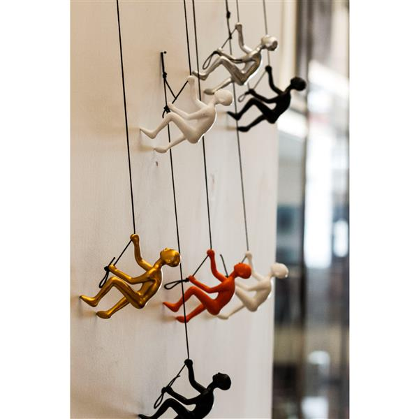 Natural by Lifestyle Brands Suspended Climber - 3 PK - Multicoloured