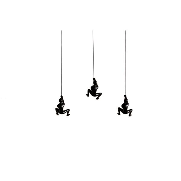 Natural by Lifestyle Brands Suspended Climber - 3 PK - Black