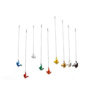 Natural by Lifestyle Brands Suspended Climber - 9 PK - Multicoloured