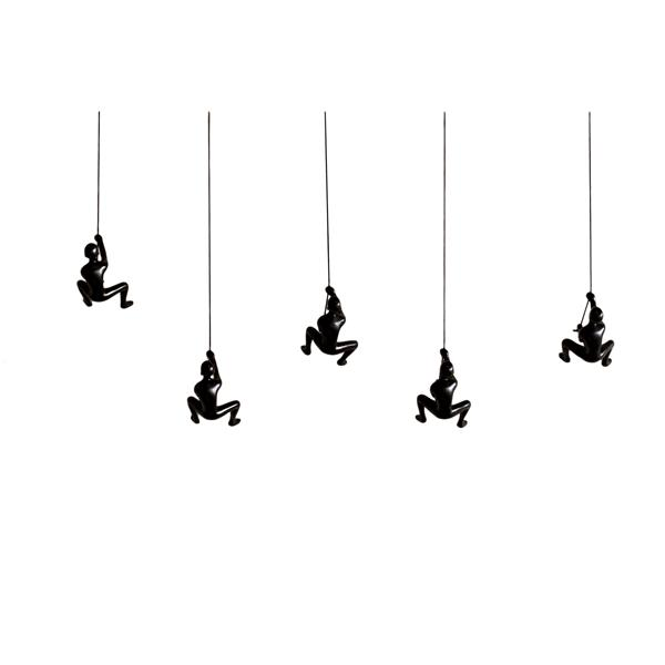 Natural by Lifestyle Brands Suspended Climber - 5 PK - Black