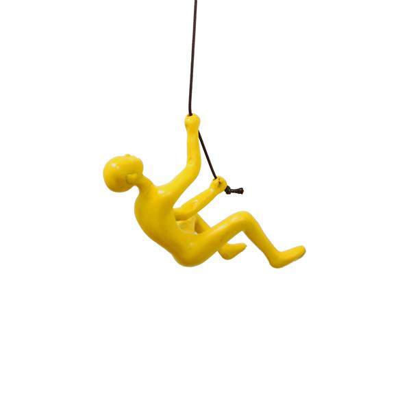 Natural by Lifestyle Brands Suspended Climber - Yellow