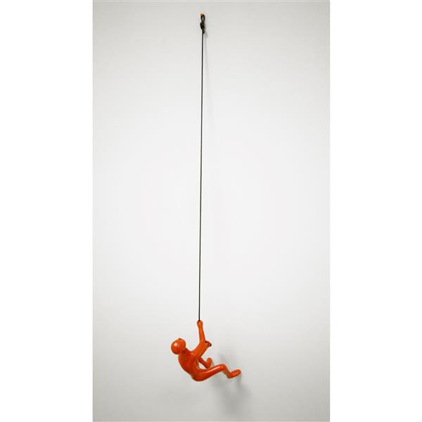 Natural by Lifestyle Brands Suspended Climber - Orange