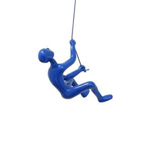 Grimpeur suspendue, bleu