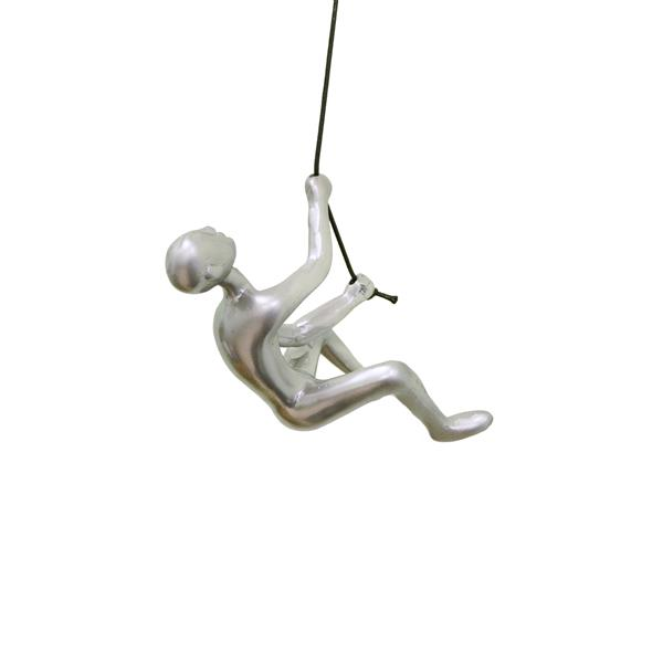 Natural by Lifestyle Brands Suspended Climber - Silver