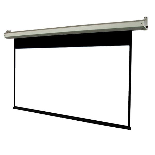 "Écran de projecteur manuel TygerClaw, 61"", acier, blanc"