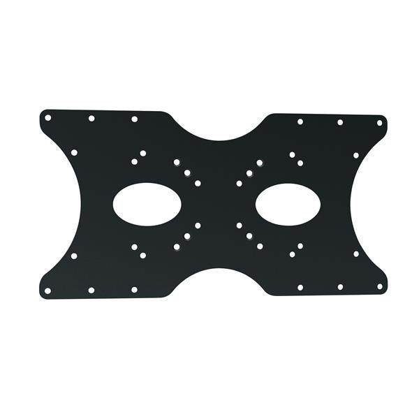 Adaptateur VESA pour téléviseur TygerClaw, 400 x 200, noir