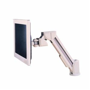 TygerClaw 14-in to 17-in White Desk Mount