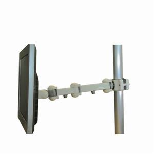 TygerClaw 10-in to 17-in Gray Pole Mount