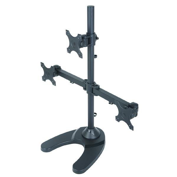 TygerClaw 13-in to 24-in Black 3 Monitor Desk Mount